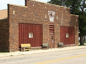 Sheyenne, North Dakota - The Ostby Hall- Community Activities