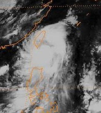 1998 Pacific typhoon season - Image: Otto 1998