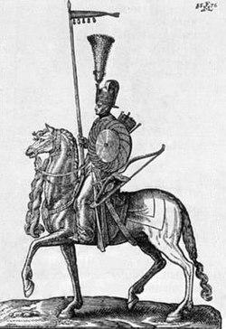 Osmanský Sipahi, Melchior Lorch (1646) .jpg