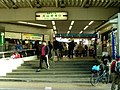 Oyama Station South entrance 20050109.jpg
