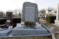 Français: Monument aux élus martyrs de la résistance