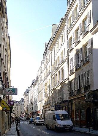 Rue Dauphine - Image: P1000795 Paris VI Rue Dauphine reductwk