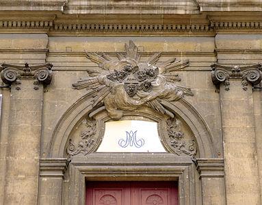 Ordre ionique for Aide facade