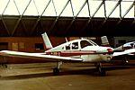 PA-28 Cherokee G-BBLA at Usworth (15964699989).jpg