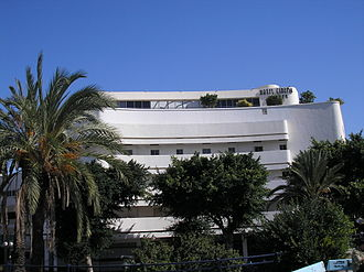 White City (Tel Aviv) - Cinema Hotel, formerly an International Style movie theater built in the 1930s