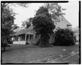 PERSPECTIVE VIEW FROM SOUTHWEST - Nevitt's St. Anne, Leonardtown, St. Mary's County, MD HABS MD,19-LENTO.V,2-3.tif