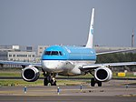 PH-EZM KLM Cityhopper Embraer ERJ-190STD (ERJ-190-100) taxiing, 25august2013 pic-1.JPG
