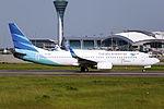 PK-GMQ - Garuda Indonesia - Boeing 737-8U3(WL) - CAN (14856072440).jpg