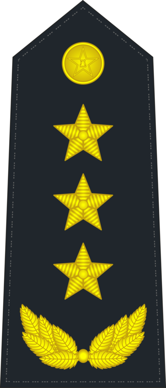 Ranks of the People's Liberation Army Navy - Image: PLANF 0720 GEN