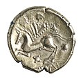 POTTINA stater van de Trevieren in goud, 55 tot 50 VC, vindplaats- Vechmaal, Bornebeemden, collectie Gallo-Romeins Museum Tongeren, GRM 9247, 011.jpg