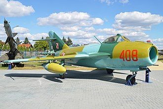Mikoyan-Gurevich MiG-17 - Lim-5 in Polish Air Force markings