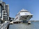 Pacific Dawn (ship) at Portside Wharf at Hamilton, Queensland 03.jpg