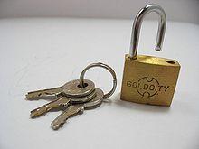 padlock wiktionary