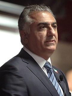 Reza Pahlavi, Crown Prince of Iran Former Crown Prince of Iran (born 1960)