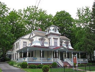 Westport, New York - The Victorian Lady bed and breakfast, one of many historic houses in Westport