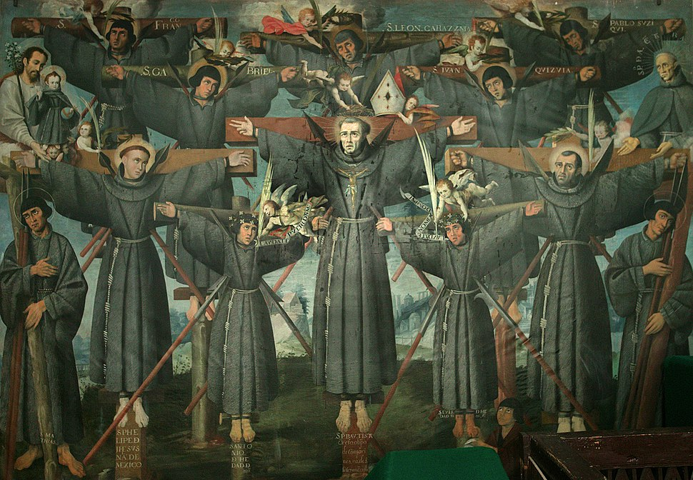 Painting of the Nagasaki Martyrs