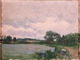 Paisaje de Vichy (Río Alier)