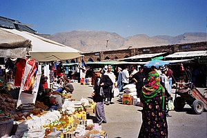 Panjakent - Panjakent Bazaar
