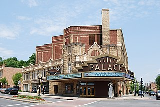 Palace Theatre (Albany, New York) theater and movie theater in Albany, New York, United States