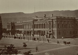 Caucasus Viceroyalty (1801–1917) - Palace of the Caucasus Viceroy in Tiflis, 1860s.