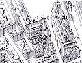 Palazzo Budini Gattai in 1584, Buonsignori map.jpg