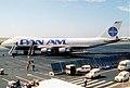 Pan Am Boeing 747-121; N742PA, September 1987 (5682508157).jpg