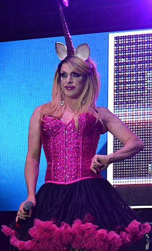 Pandora Boxx - Pandora Boxx performing at the Gay Games Festival Village in Cleveland, OH in 2014