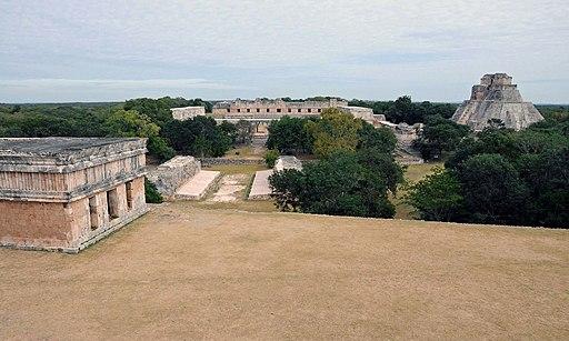 Panoramica Uxmal