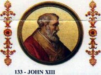 Pope John XIII - Image: Papa Ioannes XIII