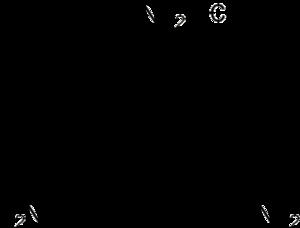 Triphenylmethyl hexafluorophosphate - Image: Pararosaniline