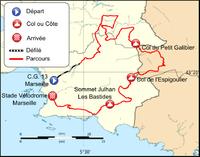 Parcours du Grand Prix d'Ouverture La Marseillaise 2012.png