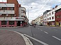 Pardubice, Jana Palacha, ze Zborovského náměstí.jpg