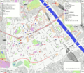 Paris 13th arrondissement map with listings 2.png