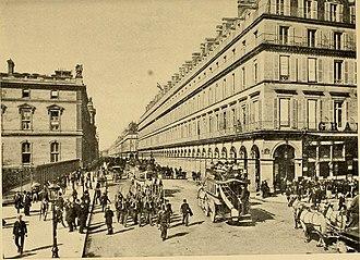 Rue de Rivoli - Rue de Rivoli, 1900