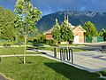 Park at east end of Hobble Creek Canyon Parkway, Springville, Utah, May 16.jpg