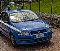 Parked police car in Esino Lario.jpg