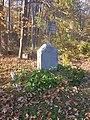 Parmenter Garrison house site monument from King Philip's War in Sudbury Massachusetts MA USA.jpg