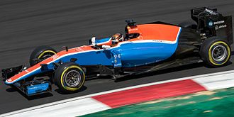 Pascal Wehrlein - Wehrlein driving for Manor at the 2016 Malaysian Grand Prix