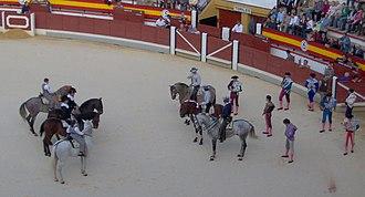 Rejoneador - Rejoneadores during the paseillo