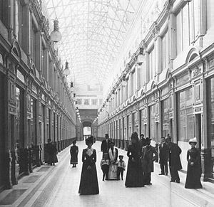 Passage (department store) - Within the renovated Passage, 1902.