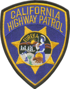 California California Highway Patrol CA State Police Patch  CHiPs  CHP