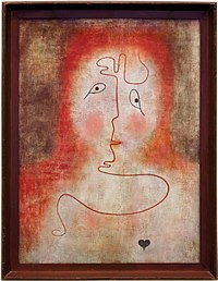 Paul klee, nello specchio magico, 1934.jpg