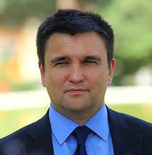 Pavlo Klimkin Ukrainian diplomat and politician