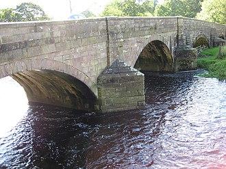 Newsholme, Lancashire - Image: Paythorne Bridge geograph.org.uk 927834