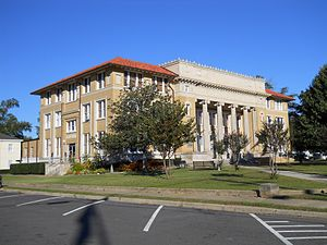 Poplarville, Mississippi - Pearl River County Courthouse