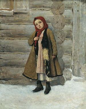 Peasant girl (Batyukov)