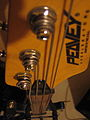 Peavey Axcelerator Fretless Bass - headstock vertical (2007-02-24 by Andrew Plumb).jpg