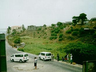 Pedra Badejo - Irrigated land in town.