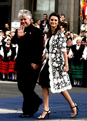 Pedro Almodovar and Penélope Cruz