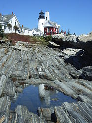 Leuchtturm Pemaquid Point
